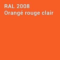 RAL 2008 - Orangé rouge clair