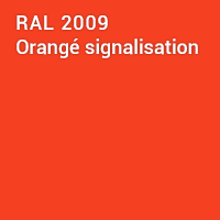 RAL 2009 - Orangé signalisation