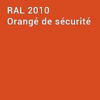 RAL 2010 - Orangé de sécurité