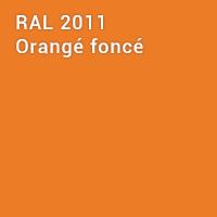 RAL 2011 - Orangé foncé