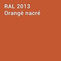 RAL 2013 - Orangé nacré