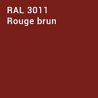 RAL 3011 - Rouge brun