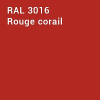 RAL 3016 - Rouge corail